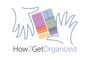 how 2 get organized logo elisa hawkinson vendor at ignite your radiance 2019 conference