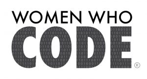 women who code seattle logo media sponsor for illuminating women conference march 2 on the eastside