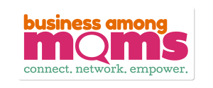 bam logo business among moms